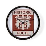 Daggett Route 66 Wall Clock