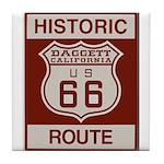Daggett Route 66 Tile Coaster