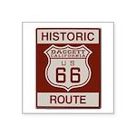 Daggett Route 66 Square Sticker 3