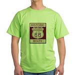 Daggett Route 66 Green T-Shirt