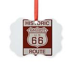 Daggett Route 66 Picture Ornament