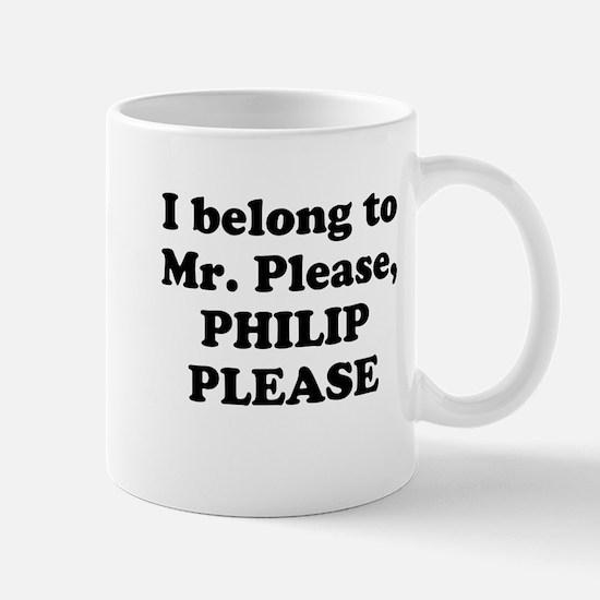 Philip Please Mug