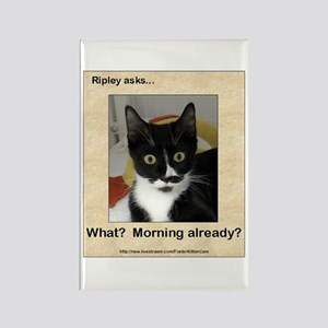 Ripley Asks About Mornings Rectangle Magnet