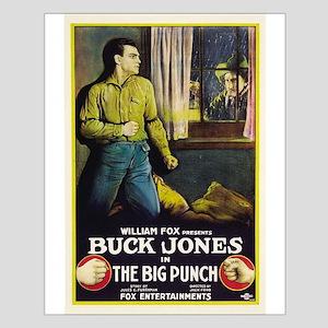 buck jones Small Poster
