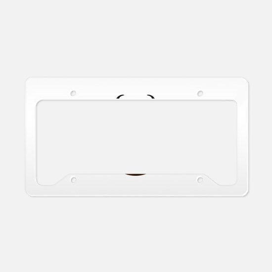 Springbok Trophy License Plate Holder