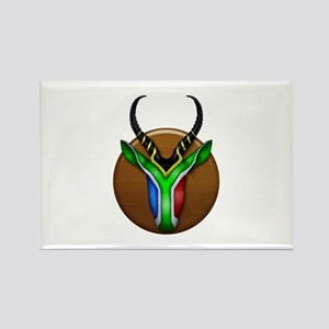 Springbok Trophy Rectangle Magnet