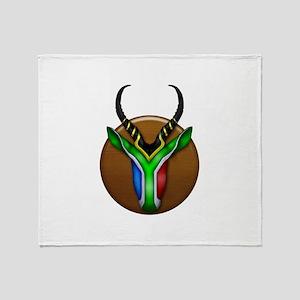 Springbok Trophy Throw Blanket