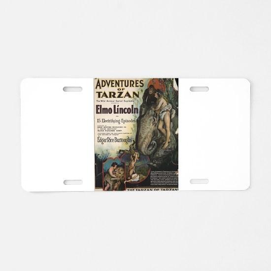 tarzan Aluminum License Plate