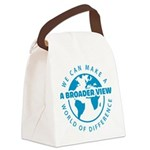 azul Canvas Lunch Bag