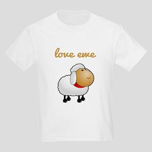 Love Ewe Kids Light T-Shirt