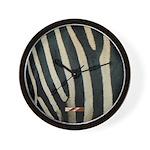 Zebra Safari Decor Wall Clock