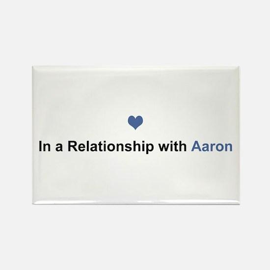Aaron Relationship Rectangle Magnet