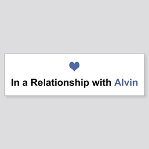 Alvin Relationship Bumper Sticker
