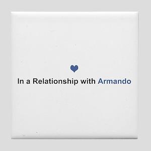 Armando Relationship Tile Coaster