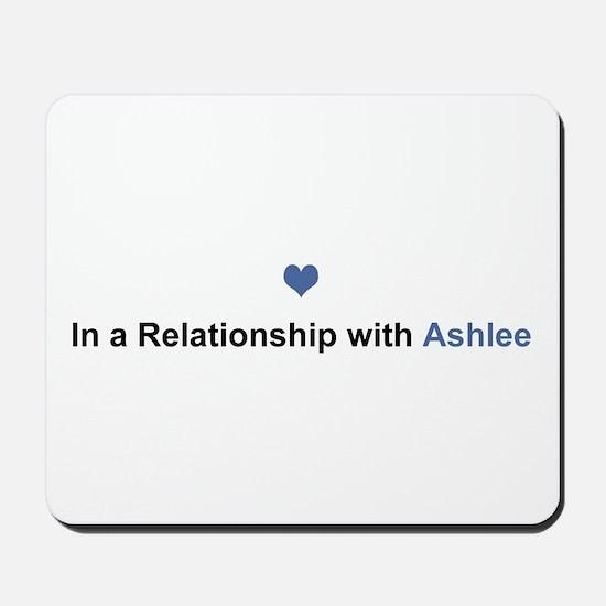 Ashlee Relationship Mousepad