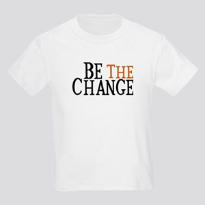 Be The Change Kids Light T-Shirt