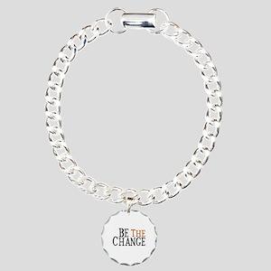 Be The Change Charm Bracelet, One Charm
