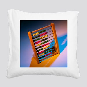 Abacus - Square Canvas Pillow
