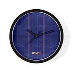 Blue Denim Wall Clock