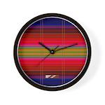 Indian Blanket Wall Clock