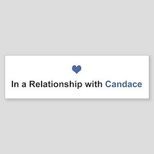 Candace Relationship Bumper Sticker