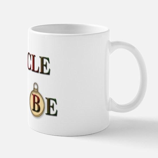 Christmas Uncle To Be Mug