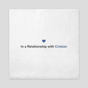 Cristian Relationship Queen Duvet