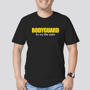 Bodyguard for my little sister Men's Fitted T-Shir
