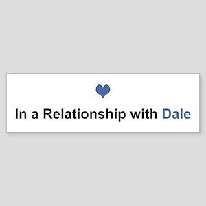 Dale Relationship Bumper Sticker