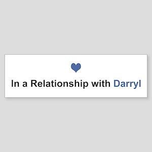 Darryl Relationship Bumper Sticker