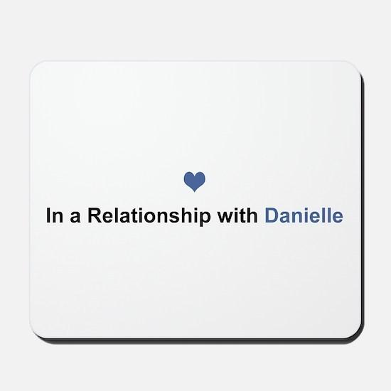 Danielle Relationship Mousepad