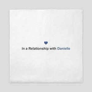 Danielle Relationship Queen Duvet