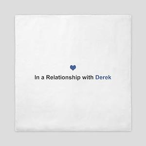 Derek Relationship Queen Duvet