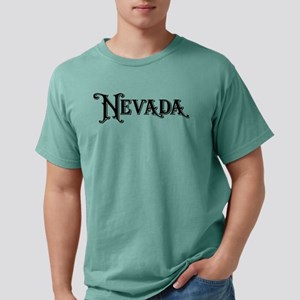 Nevada Vintage Type Stat Mens Comfort Colors Shirt