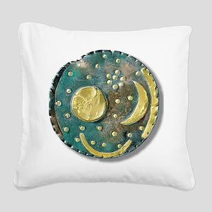 Nebra sky disk, Bronze Age - Square Canvas Pillow