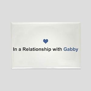 Gabby Relationship Rectangle Magnet