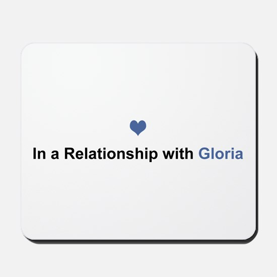 Gloria Relationship Mousepad