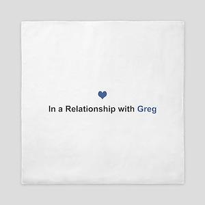 Greg Relationship Queen Duvet