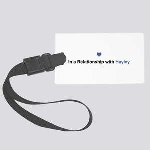 Hayley Relationship Large Luggage Tag