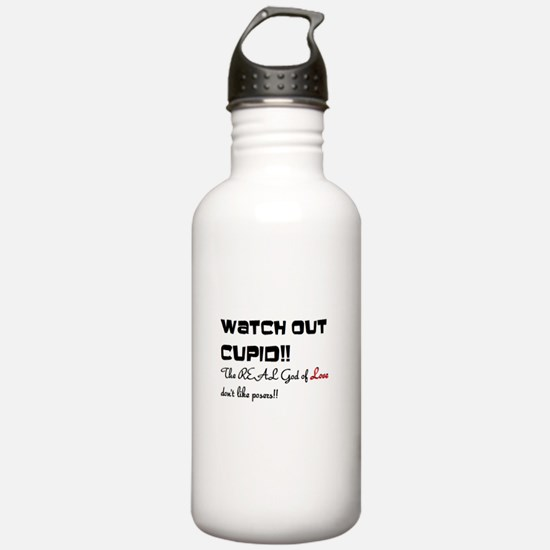 Watch out Cupid!! Water Bottle