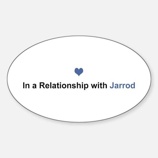 Jarrod Relationship Oval Decal