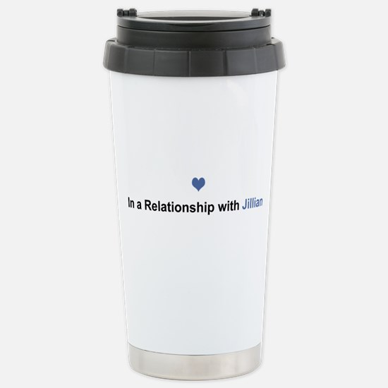 Jillian Relationship Stainless Steel Travel Mug