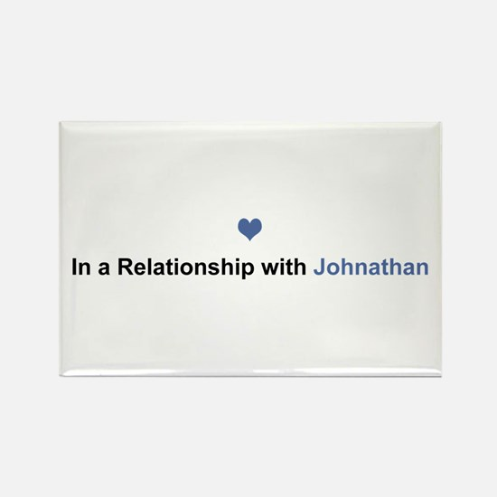 Johnathan Relationship Rectangle Magnet