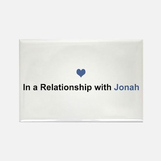 Jonah Relationship Rectangle Magnet