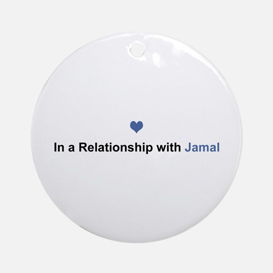 Jamal Relationship Round Ornament