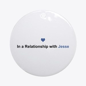 Jesse Relationship Round Ornament