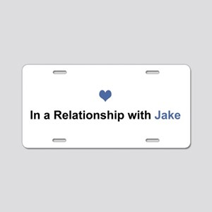 Jake Relationship Aluminum License Plate
