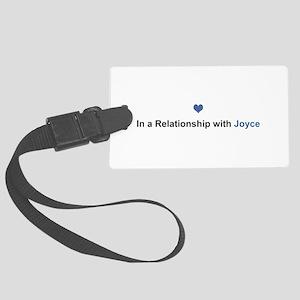 Joyce Relationship Large Luggage Tag