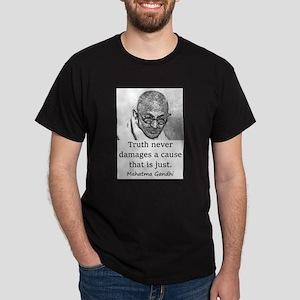 Truth Never Damages - Mahatma Gandhi T-Shirt