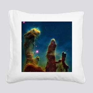 Gas pillars in the Eagle Nebula - Square Canvas Pi